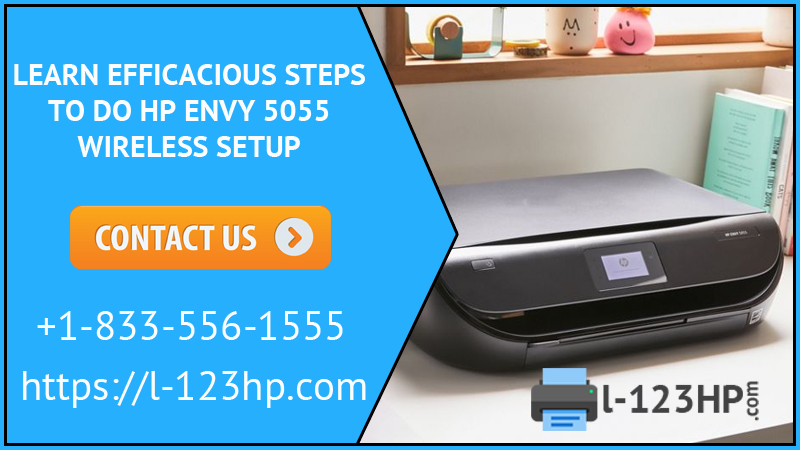HP Envy 5055 Wireless Setup