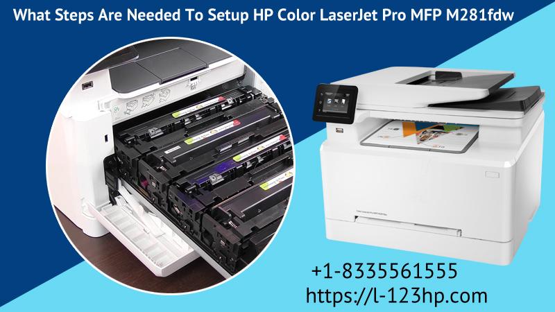 Setup HP Color LaserJet Pro MFP M281fdw