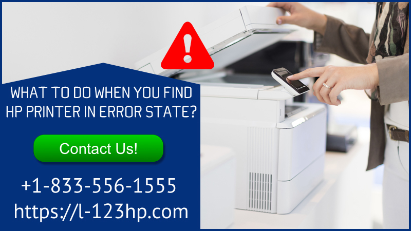 HP Printer In Error State