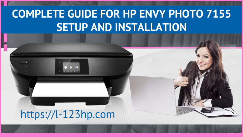 HP Envy Photo 7155 Setup