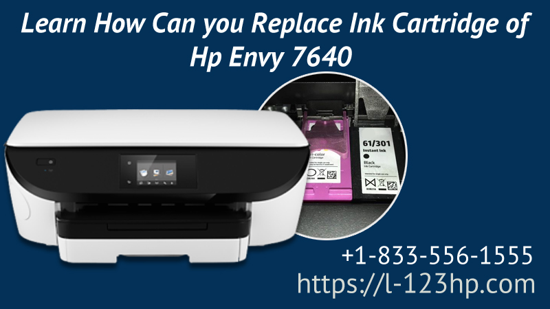 Replace Ink Cartridge of Hp Envy 7640