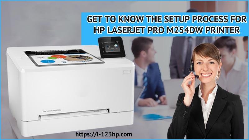 Hp LaserJet Pro M254dw Printer