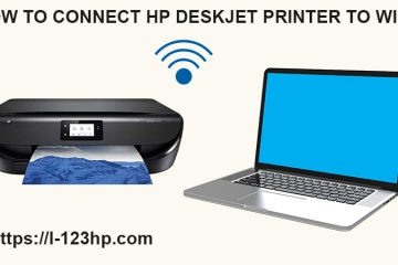 Connect HP DeskJet Printer to WiFi