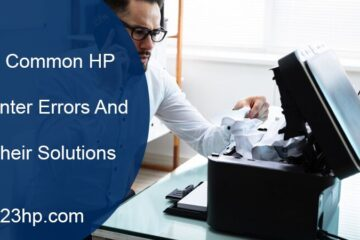 9 Common HP Printer Errors And Their Solutions