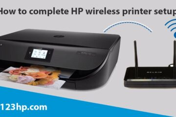 How to complete HP wireless printer setup?