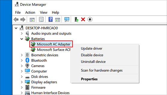 Update printer drivers if still, HP printer goes offline