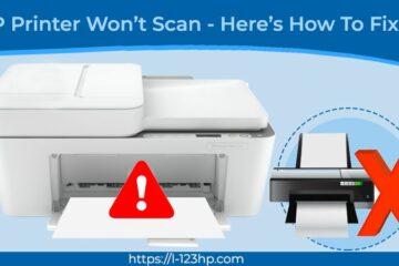 HP Printer Won't Scan