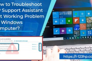 HP Support Assistant not working