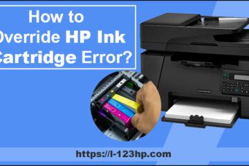 HP ink cartridge errors